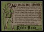 1957 Topps Robin Hood #31   Taking The Treasure Back Thumbnail