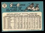1965 Topps #102  Steve Boros  Back Thumbnail