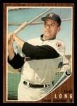 1962 Topps #228  Dale Long  Front Thumbnail