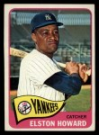 1965 Topps #450  Elston Howard  Front Thumbnail