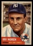 1953 Topps #35  Irv Noren  Front Thumbnail