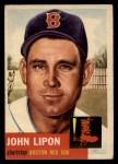 1953 Topps #40  John Lipon  Front Thumbnail