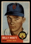 1953 Topps #165  Billy Hoeft  Front Thumbnail