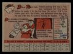 1958 Topps #473  Bill Renna  Back Thumbnail