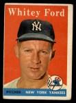 1958 Topps #320  Whitey Ford  Front Thumbnail