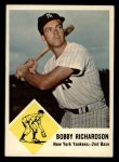 1963 Fleer #25  Bobby Richardson  Front Thumbnail