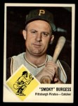 1963 Fleer #55  Smoky Burgess  Front Thumbnail