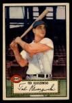 1952 Topps #29 RED Ted Kluszewski  Front Thumbnail