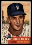 1953 Topps #210  Bob Cerv  Front Thumbnail