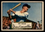 1952 Topps #52 RED Don Mueller  Front Thumbnail