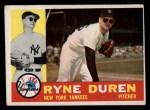 1960 Topps #204  Ryne Duren  Front Thumbnail