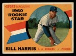 1960 Topps #128   -  Bill Harris Rookie Star Front Thumbnail