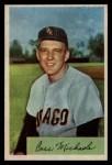 1954 Bowman #150  Cass Michaels  Front Thumbnail