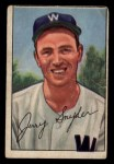 1952 Bowman #246  Jerry Snyder  Front Thumbnail