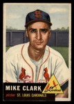 1953 Topps #193  Mike Clark  Front Thumbnail