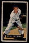 1951 Bowman #104  Virgil Trucks  Front Thumbnail