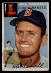 1954 Topps #40  Mel Parnell  Front Thumbnail