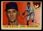 1955 Topps #68  Jim Davis  Front Thumbnail
