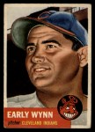 1953 Topps #61  Early Wynn  Front Thumbnail