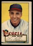 1952 Topps #88  Bob Feller  Front Thumbnail