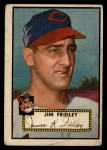1952 Topps #399  Jim Fridley  Front Thumbnail