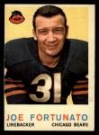 1959 Topps #106  Joe Fortunato  Front Thumbnail