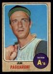 1968 Topps #586  Jim Pagliaroni  Front Thumbnail