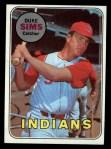 1969 Topps #414  Duke Sims  Front Thumbnail