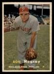 1957 Topps #254  Ron Negray  Front Thumbnail