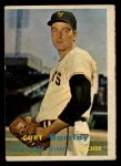1957 Topps #361  Curt Barclay  Front Thumbnail