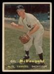 1957 Topps #200  Gil McDougald  Front Thumbnail