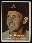 1957 Topps #239  Tom Morgan  Front Thumbnail