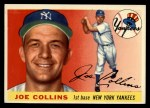 1955 Topps #63  Joe Collins  Front Thumbnail