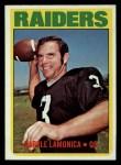 1972 Topps #169  Daryle Lamonica  Front Thumbnail