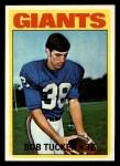 1972 Topps #185  Bob Tucker  Front Thumbnail