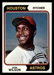 1974 Topps #304  Don Wilson  Front Thumbnail