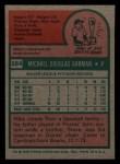 1975 Topps Mini #584  Mike Garman  Back Thumbnail