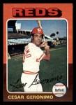 1975 Topps Mini #41  Cesar Geronimo  Front Thumbnail