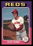 1975 Topps Mini #423  Clay Kirby  Front Thumbnail