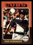 1975 Topps Mini #315  Don Kessinger  Front Thumbnail