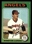 1975 Topps Mini #597  Winston Llenas  Front Thumbnail
