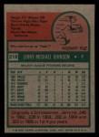 1975 Topps Mini #218  Jerry Johnson  Back Thumbnail