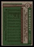 1976 Topps #128  Ken Griffey  Back Thumbnail