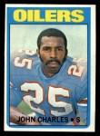 1972 Topps #176  John Charles  Front Thumbnail