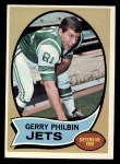 1970 Topps #226  Gerry Philbin  Front Thumbnail
