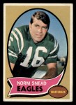 1970 Topps #115  Norm Snead  Front Thumbnail