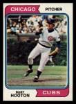 1974 Topps #378  Burt Hooton  Front Thumbnail