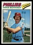 1977 Topps #140  Mike Schmidt  Front Thumbnail