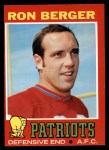 1971 Topps #107  Ron Berger  Front Thumbnail