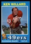 1971 Topps #129  Ken Willard  Front Thumbnail
